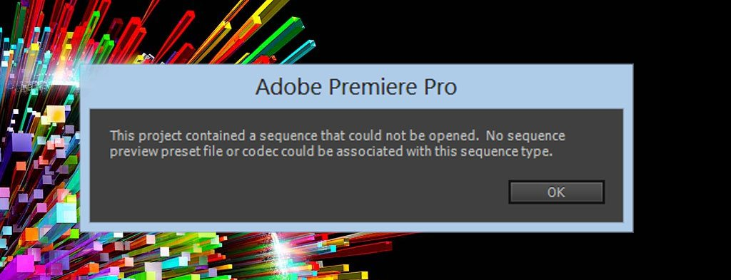 Adobe CC Enterprise Edition MPEG2 Codec is Broken